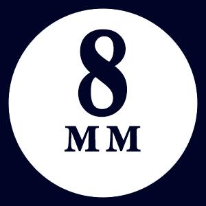 Доска 8 мм