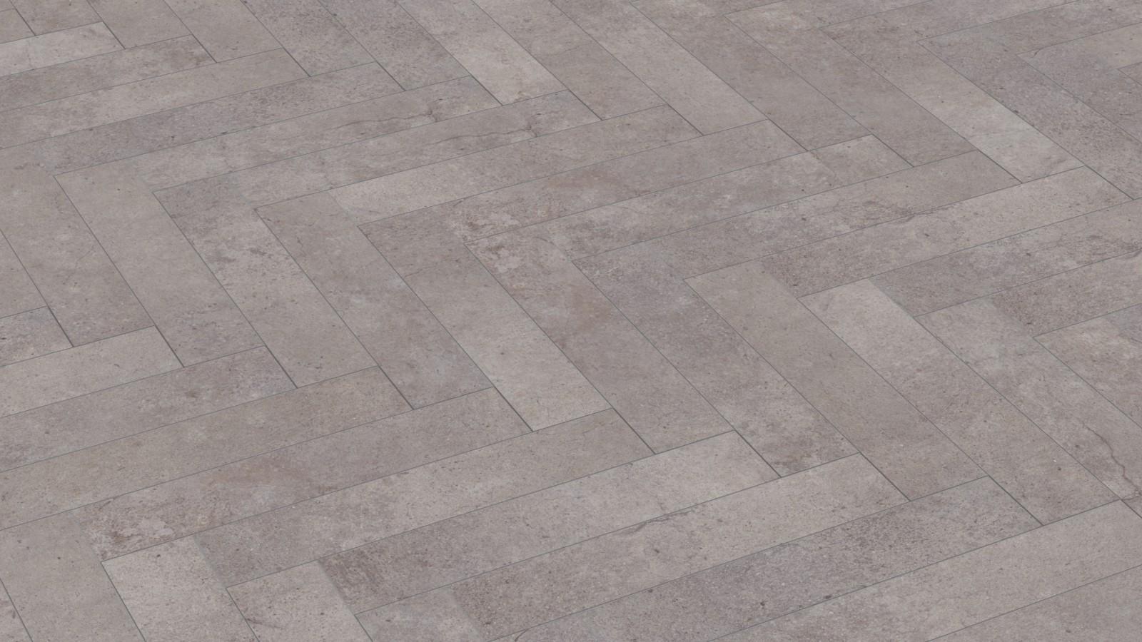 Kronotex Ламинат Herringbone D4739 Цемент Пезаро